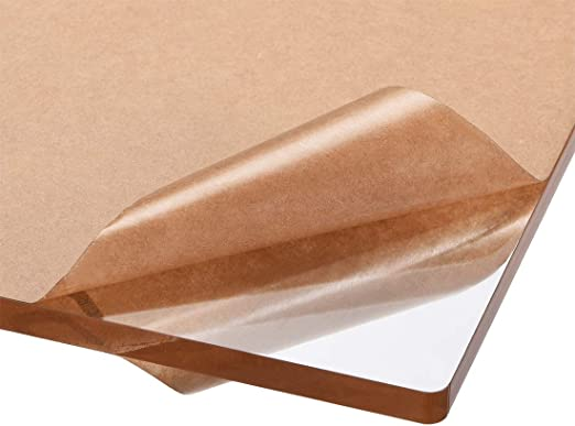 de 4/mm d/épaisseur Rev/êtement r/ésistant aux UV des 2/c/ôt/és B/&T Metall Verre acrylique en PMMA XT Transparent /À la coupe Plexiglas/®