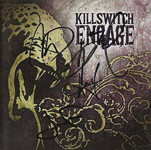 Killswitch Engage REAL hand SIGNED Self Titled CD #A COA all 5 Howard Jones +4