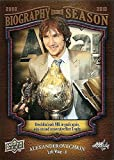 Alexander Ovechkin hockey card (Washington Capitals) 2009 Upper Deck Biography of a Season #BOS3 Goals Leader Hart Trophy