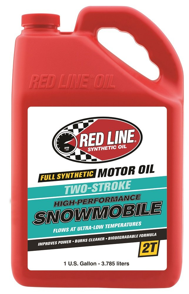 Red Line 41005 2-Stroke Snowmobile Oil - 1 Gallon Jug (Pack of 4)