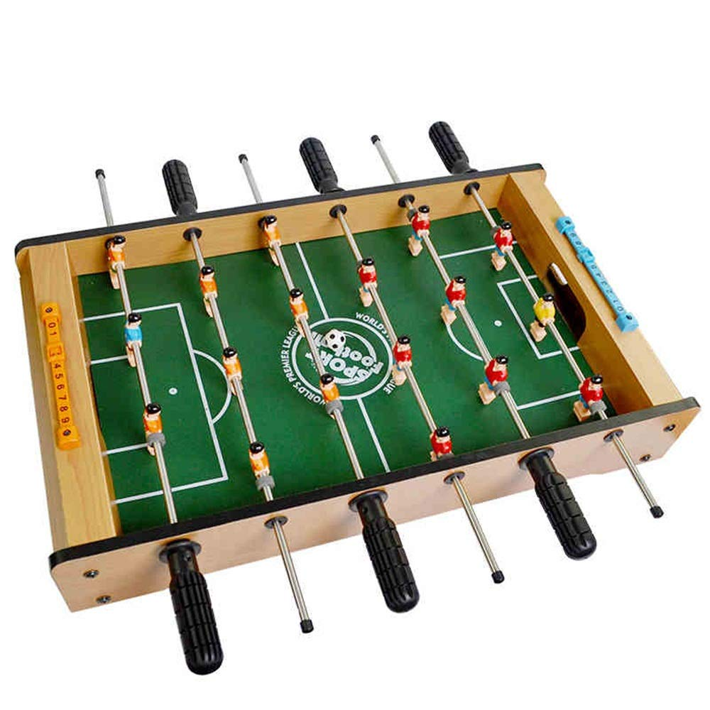 Foosball Table Heavy for Pub Game Room Foosball Table Game - Features Player Rods (Color : Green, Size : 48.6x45x8.4cm) by Forgiven
