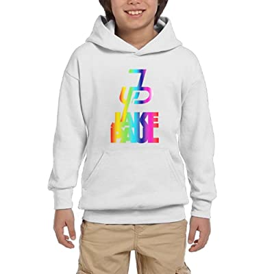 Eric A. Collins Youth Hoodie Pullover Sweatshirt Jake Paul Same Popular Logo White