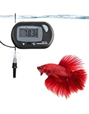 Betta Digital Thermometer - Precise Monitoring of Tank Temperature - Easy-to use, Battery Included