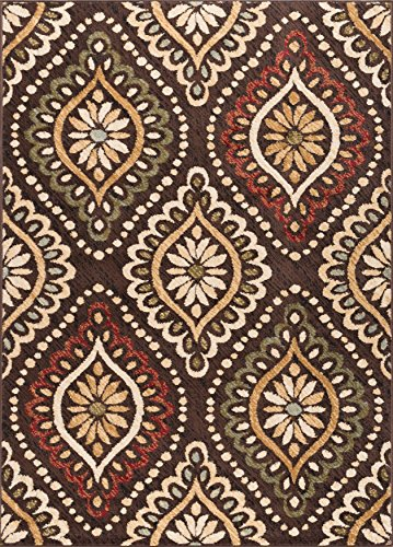 Universal Rugs Transitional Medallion Brown product image