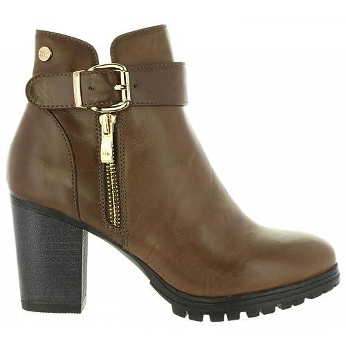 Botines de Mujer XTI 47397 C TAUPE Talla 40: Amazon.es: Zapatos y complementos