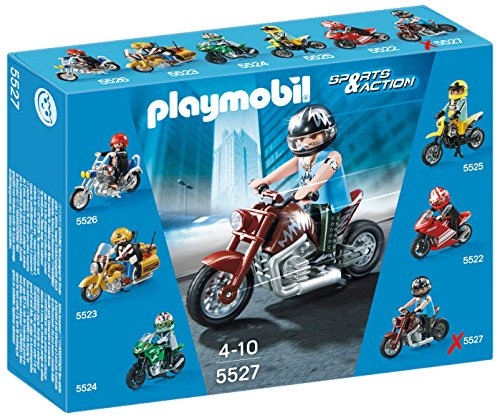 PLAYMOBIL® Muscle Bike Set (Best Motorcycle For Big Guys)