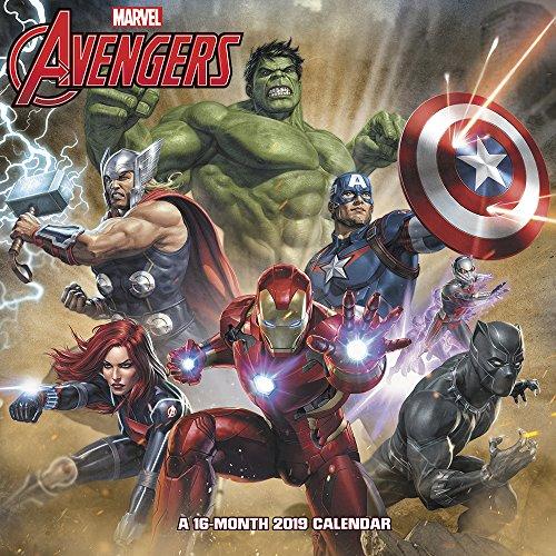 Marvel's Avengers Assemble Wall Calendar (2019)]()