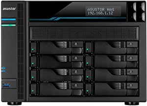 New BA-AS6508T AS6508T, ASUSTOR AS6508T 8 Bay LOCKERSTOR 8 NAS Intel Atom C3538 Quad CORE 2.1GHZ 8GB DDR4 2X2.5GBE 2X10GBE 2XM.2PCIE 2XUSB3.2GEN1 Wow Snapshot VIRTUALIZATION.e.