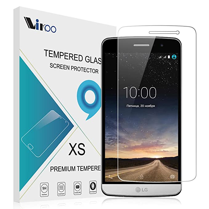 LG Ray X190 Protector de pantalla, Vikoo 9 horas dureza 2.5D ultra ...