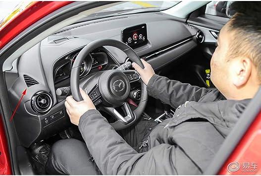 YP ABS rot matt Innenraum Luftzufuhr Abdeckung f/ür Mazda CX-3 CX3 2017 2018