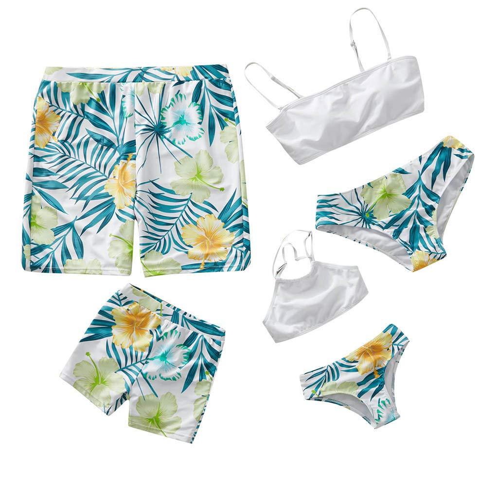 NUWFOR Baby Boys Swimwear Running Surfing Sports Beach Shorts Trunks Board Pants(Z-White,4-5Years)