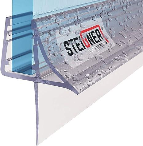 steigner 80/cm Joint de rechange pour 6/mm//7/mm//8/mm /épaisseur de verre douche D/éflecteurs dair eau Joint uk15/Cascade Protection Cabine de douche