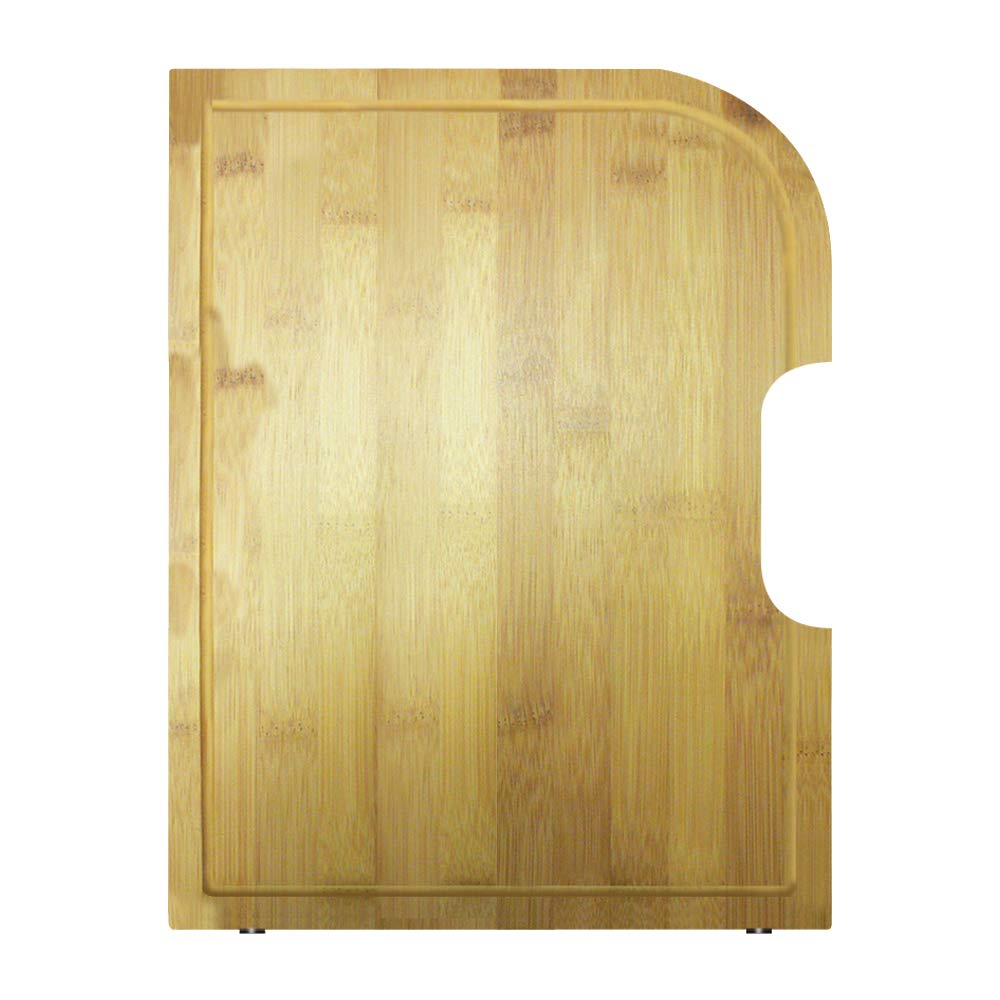 Transolid TCBO1518 Bamboo Cutting Board, 15.31-in L x 18.31-in W x 0.91-in H, Brown