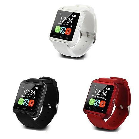 lazinem Unisex USB Bluetooth Smart Wrist Watch Mobile Phone Pedometer Smart E-Watch Smart Watches