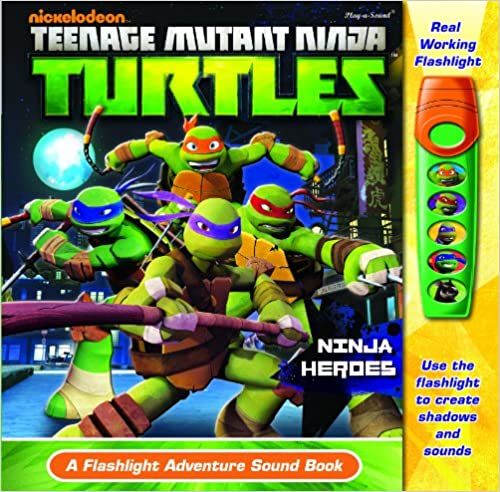 Ninja Heroes: Flashlight Adventure Sound Book