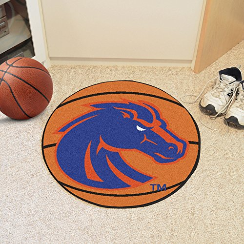FANMATS NCAA Boise State University Broncos Nylon Face Basketball Rug