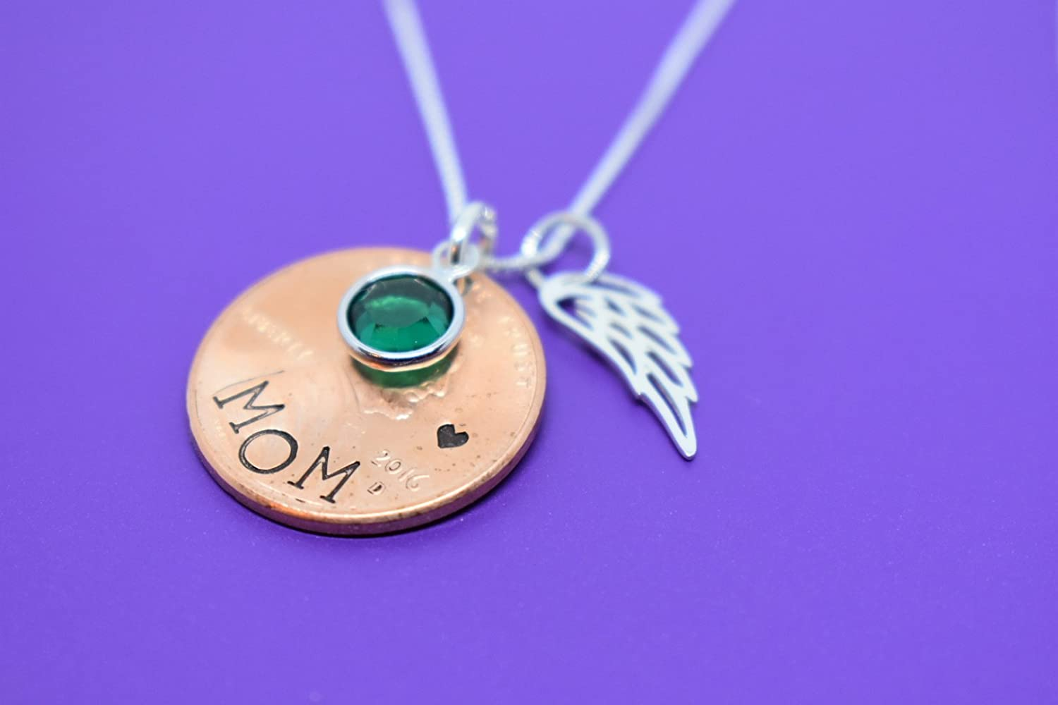 Memorial Necklace, Jewelry - Penny from Heaven - Penny Necklace -  Remembrance necklace - Mom - Dad