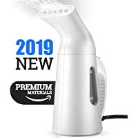 Steamer, Powerful Portable Handheld Travel Fabric Steamer Iron with Dual Protection System for Dewrinkles Clothing, Cleaning, Sterilization Steaming face, Humidification with UL Certificated