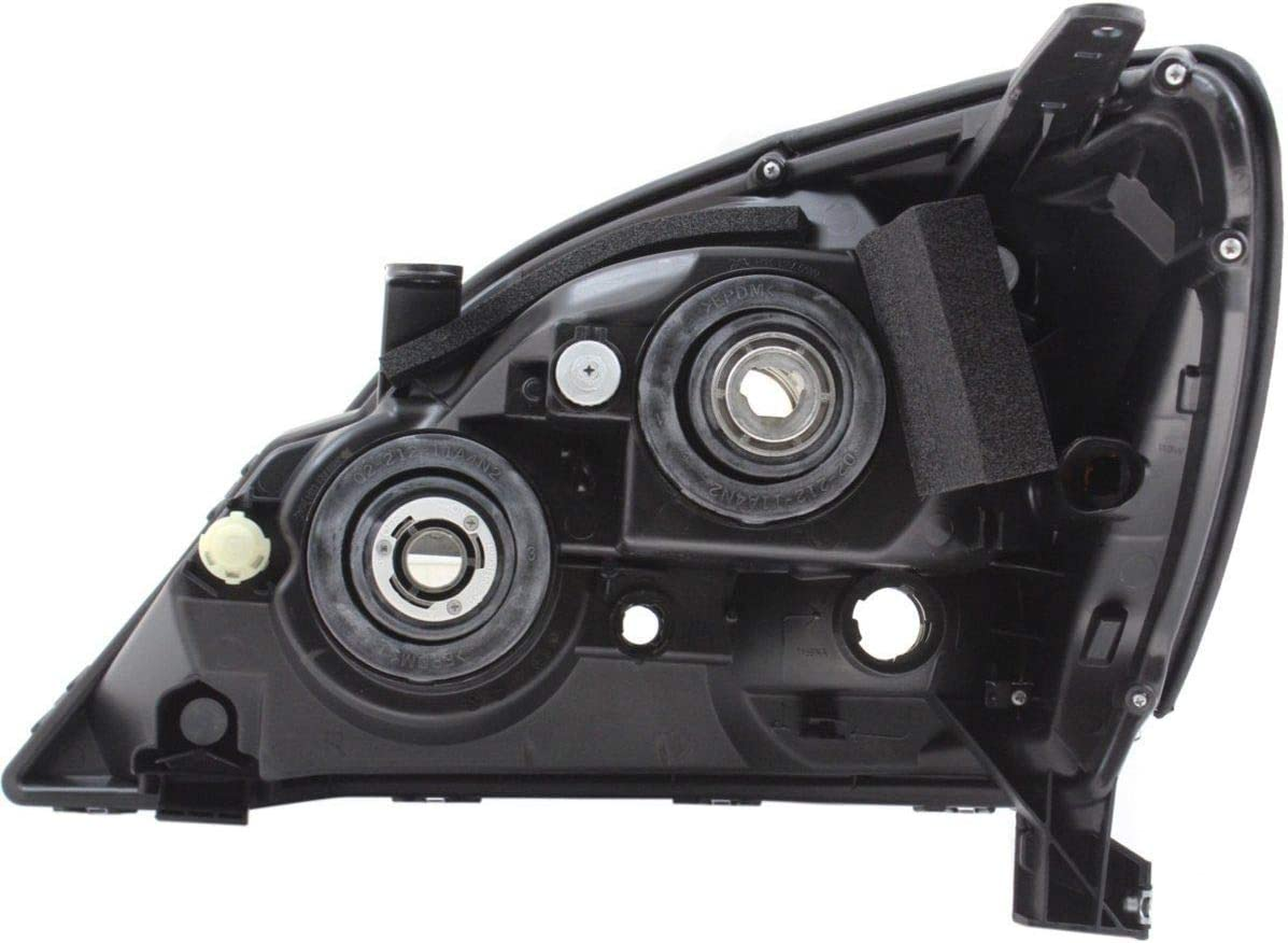 OTS HEAD LAMP LENS AND HOUSING RIGHT FITS 2003-2009 LEXUS GX470 8113060A60