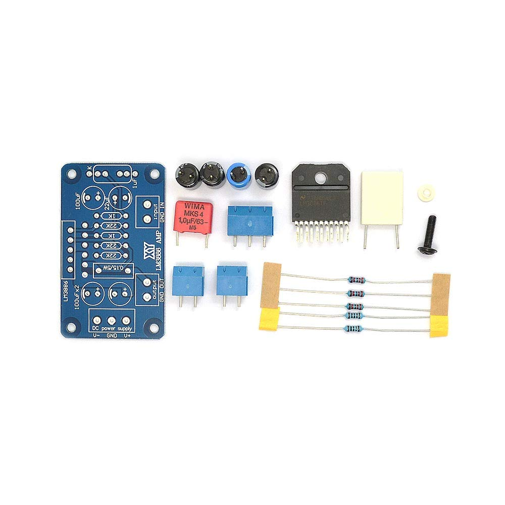 Lm3886tf Lm3886 Amplifier Amp Ne5532 Diy Kit Components 1 Channel High Performance Audio Power 60w Tools
