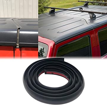 Amazon Com Def Roof Flow Seal Strip Hard Top Seal Replacement For Jeep Wrangler Jk Jl 2007 2019 Waterproof Dustproof Reduce Noise Sun Resistant Durable Silicone Strip 59 05 Automotive