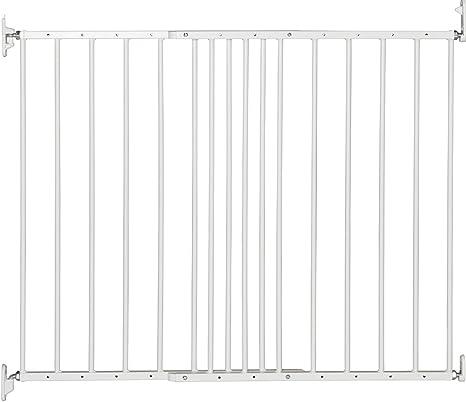 BabyDan configure porte de sécurité et Flex Baby Gate Extension 46 cm-Blanc
