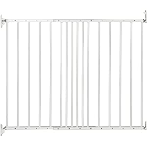 BabyDan Multidan Extending Metal Safety Gate (White)