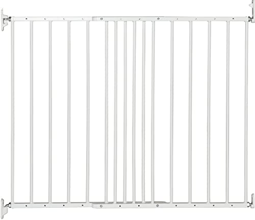 BabyDan Multidan Extending Metal Safety Gate, White