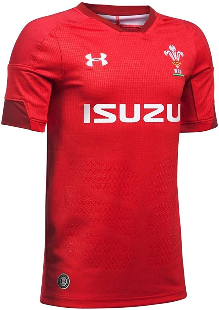 Under Armour - Camiseta de rugby para niños, Infantil, 1298993-600, Red 600, Medium: Amazon.es: Ropa y accesorios