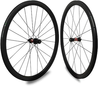 Yuanan DT Swiss 240 Hub Sapim CX Ray 30 mm Aero Rueda de carbono Tubular Tubeless para escalada Bicicleta de carretera Juego de ruedas: Amazon.es: Deportes y aire libre