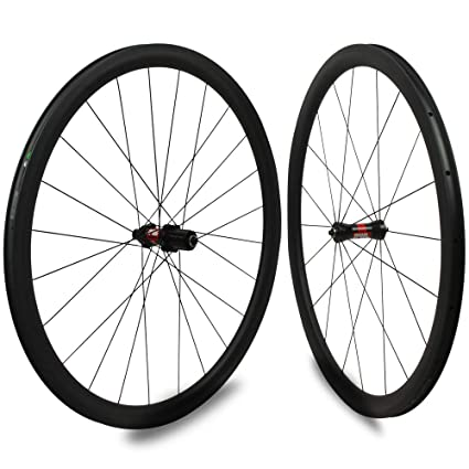 Yuanan DT Swiss 240 Hub Sapim CX Ray 30 mm Aero Rueda de carbono Tubular Tubeless