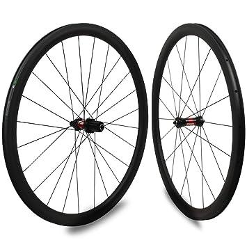 Yuanan DT Swiss 240 Hub Sapim CX Ray 30 mm Aero Rueda de carbono Tubular Tubeless para escalada Bicicleta de carretera Juego de ruedas: Amazon.es: Deportes ...