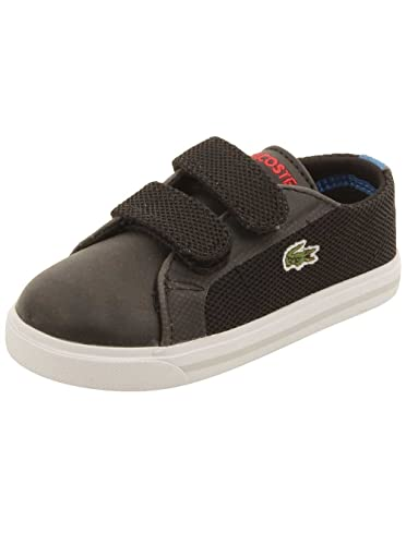 LACOSTE Marcel 4161 Black/Royal Blue Sneakers 7-32SPI0121024 Infant/Toddler Shoes (