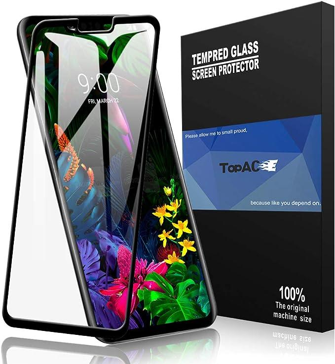 Topace Bye-Bye-Bubble - Protector de pantalla para LG G8 ThinQ/LG ...