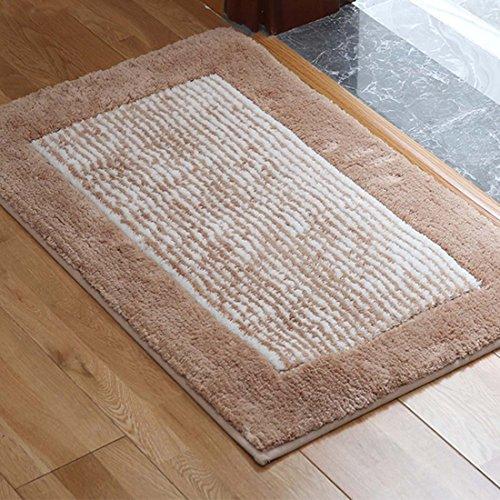 Camel Stripes Rug - Family Decor Door Mat Indoor/Outdoor Non Slip Entrance Front Doormat Rugs, 20