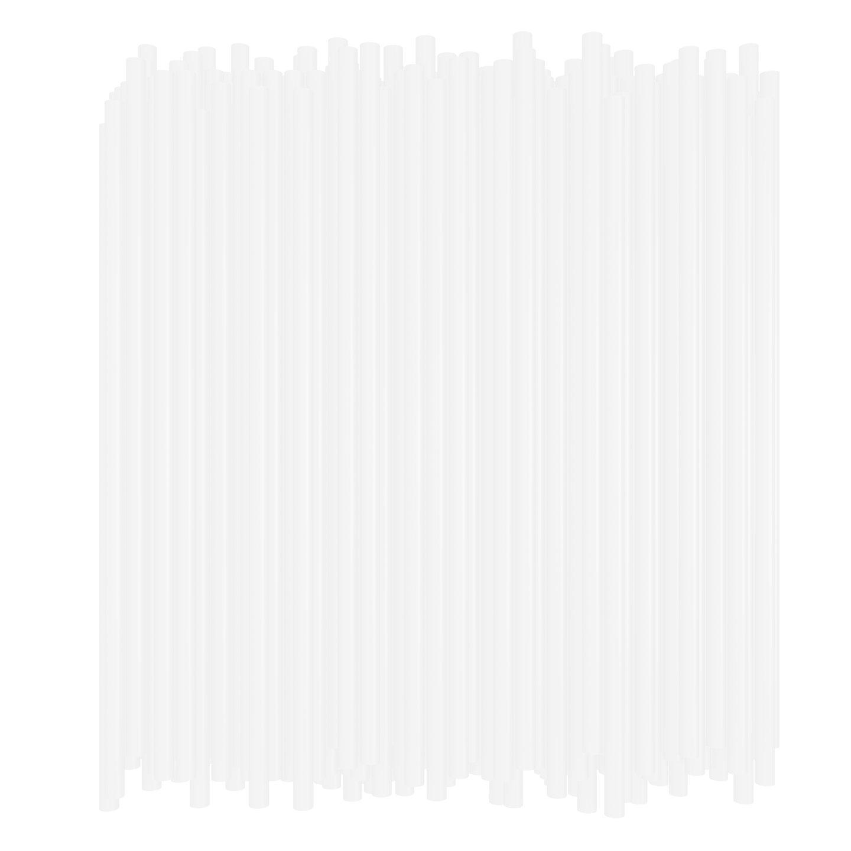 10 Inch Drinking Straws (250 Straws) (10 Inch x 0.28 Inch) (Clear) by BAR-TY TIME!