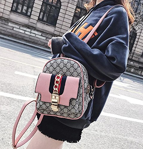 main nouvelle mode Totes Top féminin à Pink Sac bandoulière Sacs sac Handle Filles à multifonction impression fronde Tt4WqxF10x