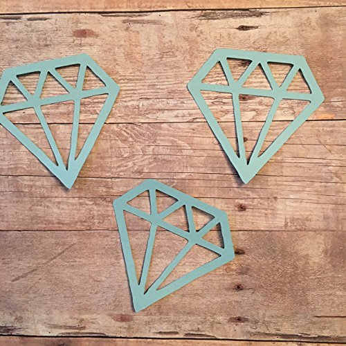 Diamond Confetti, Jewel Decorations, Wedding Theme, Wedding Decorations, Bridal Shower Party Supplies, Diamond Cut Out ()