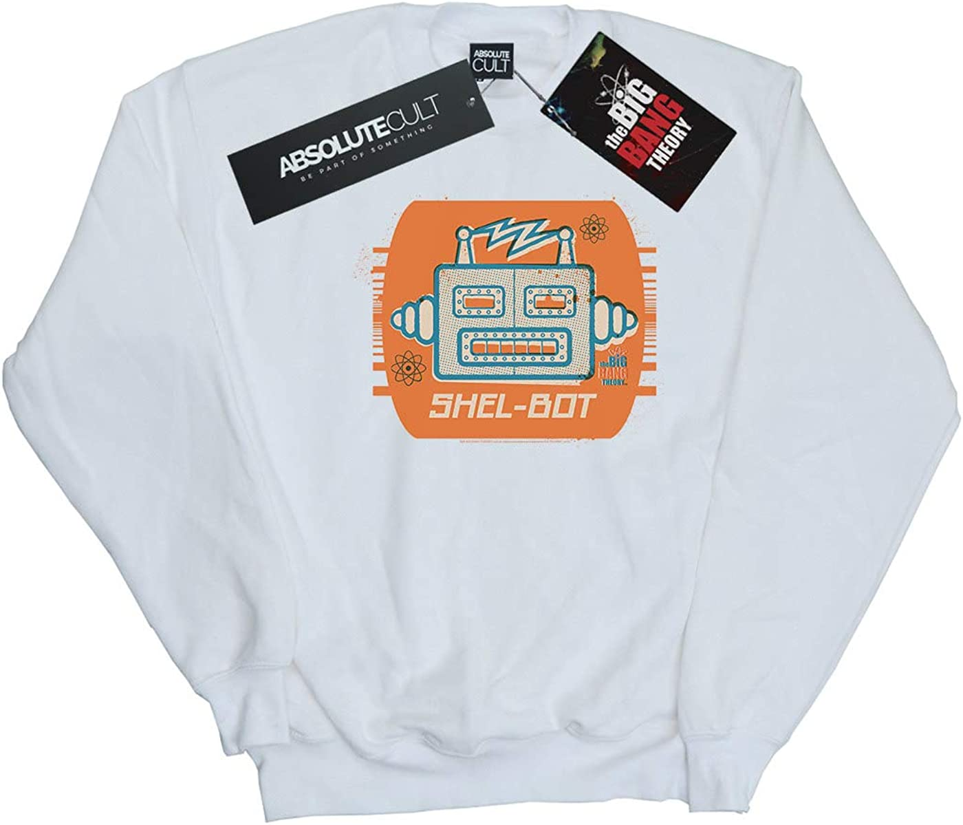 The Big Bang Theory Girls Shel-Bot Icon Sweatshirt