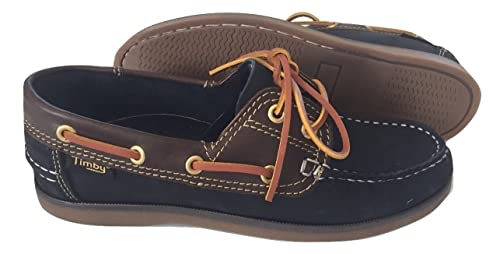 TIMBY Deck Shoes Navy Lace Up (UK 9 EU 43)