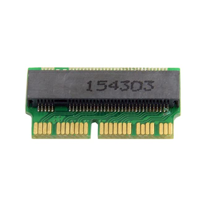 cablecc 12 + 16pin 2014 2015 MacBook a M.2 ngff ssd m-key convertir tarjeta para A1493 A1502 A1465 A1466