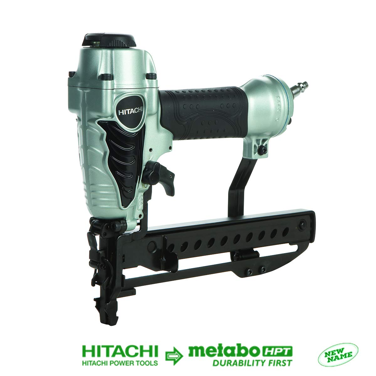 Hitachi N3804AB3 1/4'' Narrow Crown Stapler, 18 Gauge, ½-Inch to 1-1/2-Inch Staple Length by Hitachi