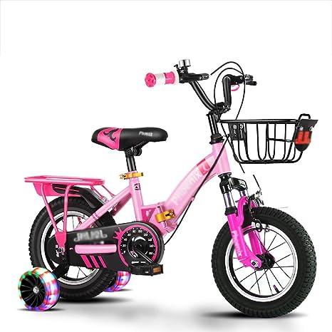 BAICHEN Bicicleta de niños Plegable portátil Bicicleta para ...