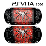 Decorative Video Game Skin Decal Cover Sticker for Sony PlayStation PS Vita (PCH-1000) - Spiderman