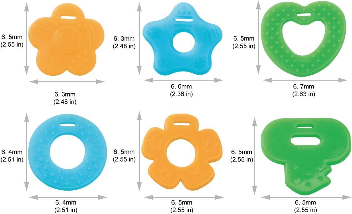 paquet de 3 papillons Paquet de 6 bavoirs bandana pour b/éb/é et jouets de dentition Paquet de 6 en 100/% coton biologique super absorbant et doux unisexe 3 pi/èces Kitty