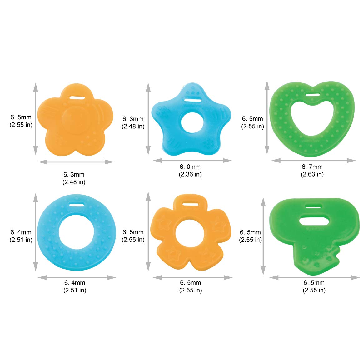 Baby Bandana Drool Bibs 4-Pack and Teething Toys 4-Pack Made with 100% Organic Cotton, Super Absorbent and Soft, Best DAD and Love MOM Letter Style(4-Packs Girl)