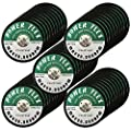 "50 Pack - CUT OFF WHEELS 3"" x 3/8"" For Cutting All Steel and Ferrous Metals. by OCM"