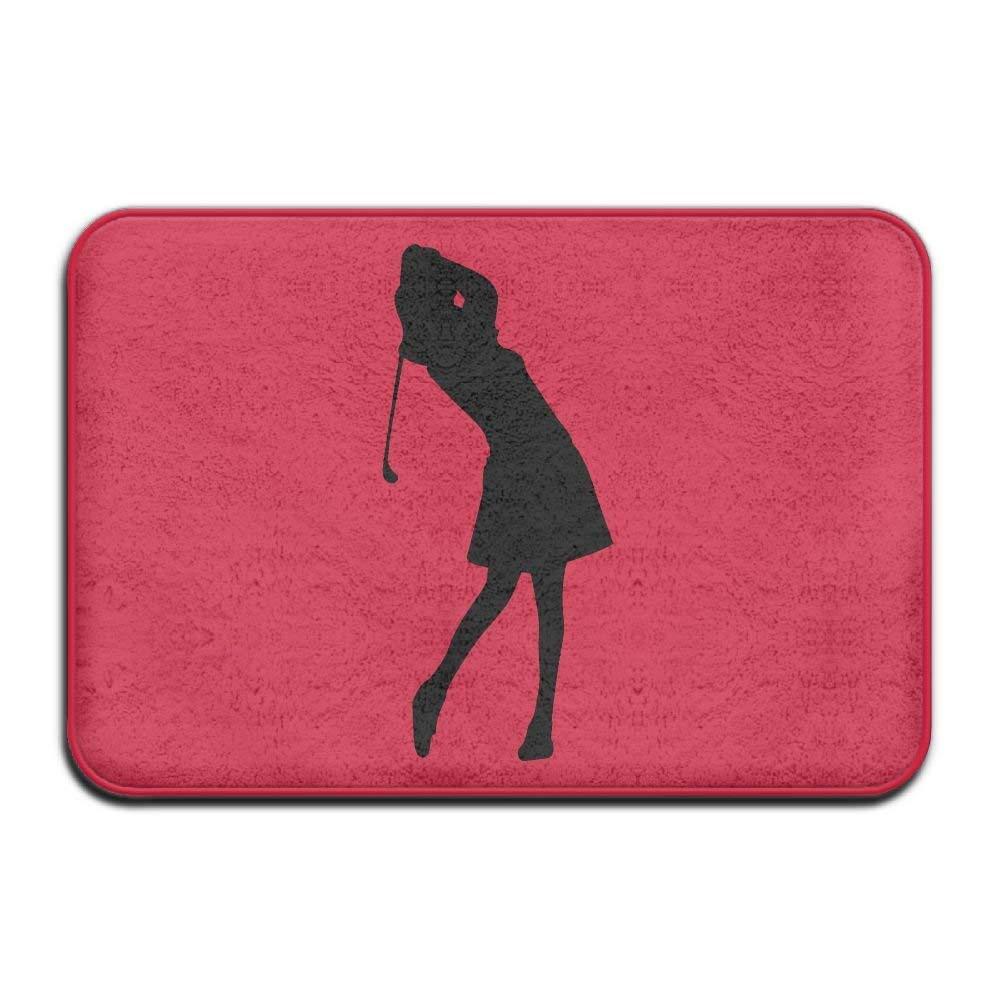 Highest Quality Materials Bath Mat Golf Female Super Cozy Bathroom Rug by heseine
