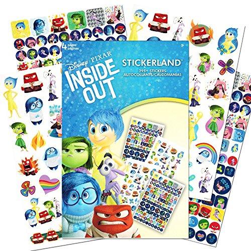 Pixar Inside Out Stickers ~ 295 Reward Stickers