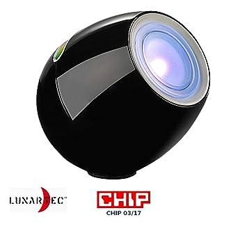 Lampe d\'ambiance 256 couleurs à LED modèle noir: Amazon.fr: Cuisine ...